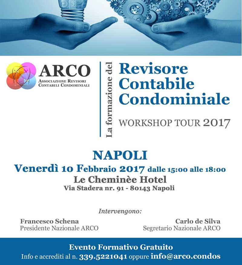 ARCO flyer CORSO Napoli