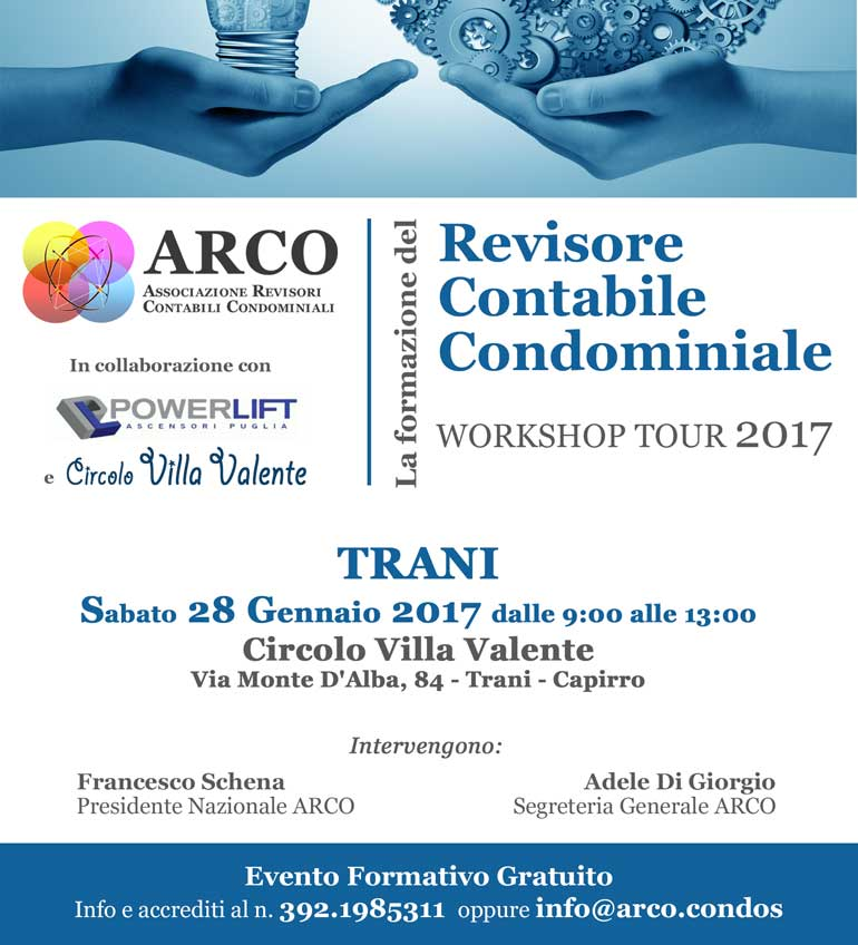 Workshop Trani